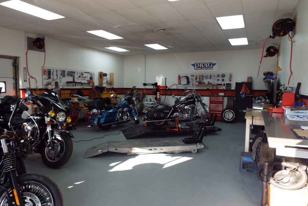 About The Shop Inc  - Motorcycle Industry
